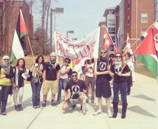 George Mason Students Palestine BDS