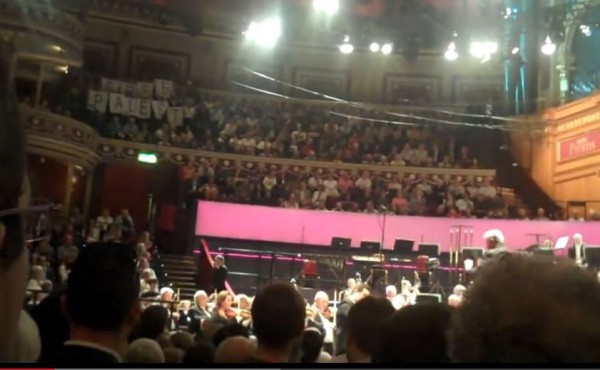Israeli Philharmonic Concert disrupted London 2011