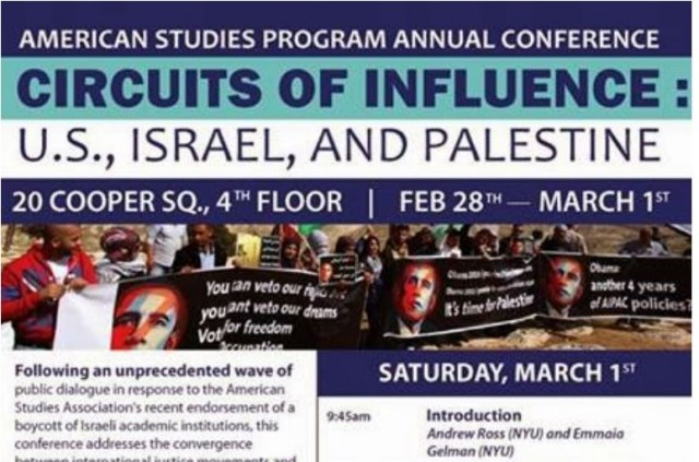 NYU American Studies Conference Circuits of Influence Banner