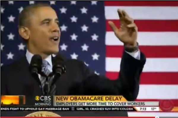 Obamacare Delays CBS News February 2014