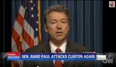 Rand Paul Cspan re Bill Clinton