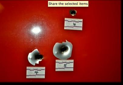 (Bullet strikes #4, #5, #6.)