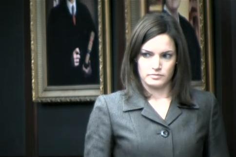 (Assistant State Attorney Erin Wolfson.)