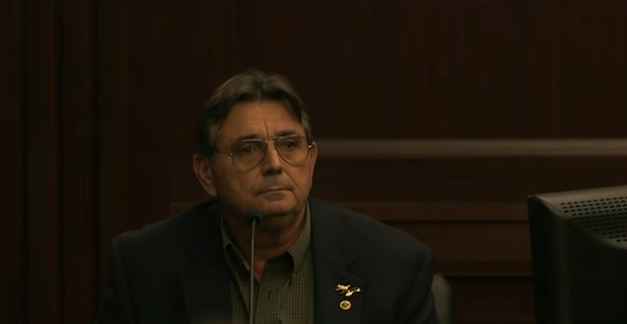 (Randy Berry, Character Witness for the defense.)