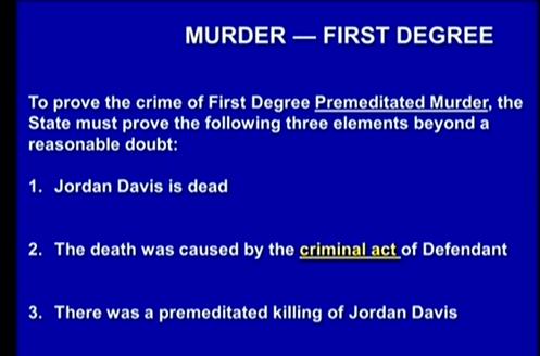 (Murder 1st Degree.)