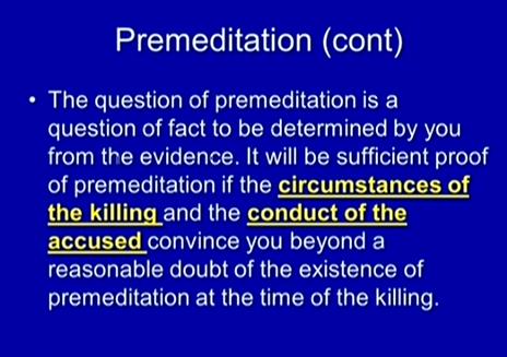 (Premeditation slide 3.)