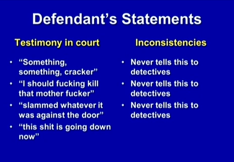 (Dunn's inconsistent statements 2.)