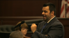 (Defense counsel Cory Strolla delivers closing statement.)