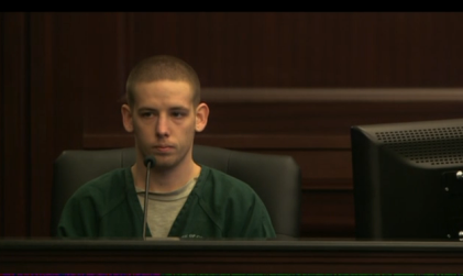 """""""Loud music"""" murder trial witness, Shaun Atkins, convict, witness of events of shooting"""