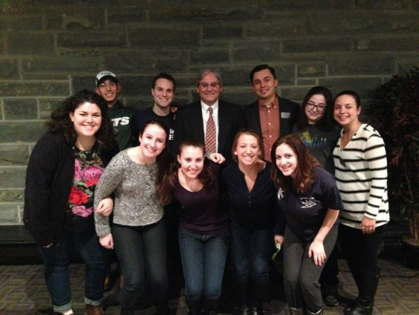 William Jacobson at Ithaca College Case for Israel Academic Freedom w Hillel students