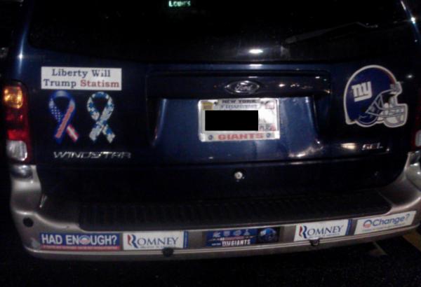 Bumper Sticker - Charlottesville VA - Van