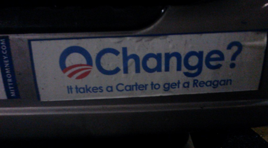 Bumper Sticker - Charlottesville VA - Van Change