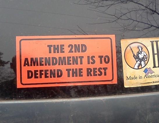 Bumper Sticker - Houston TX - 2nd Amendment