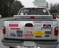 Bumper Sticker - Kingsland GA - News Media
