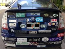 Bumper Sticker - Miami Edgewater - Crazy