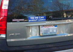Bumper Sticker - Ojai CA - Yes We Can