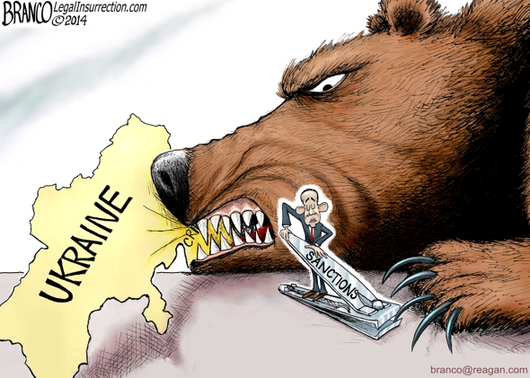 Russian Sanctions Cartoon