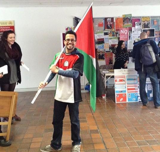 Joseph Loughnane Facebook Profile Palestinian Flag
