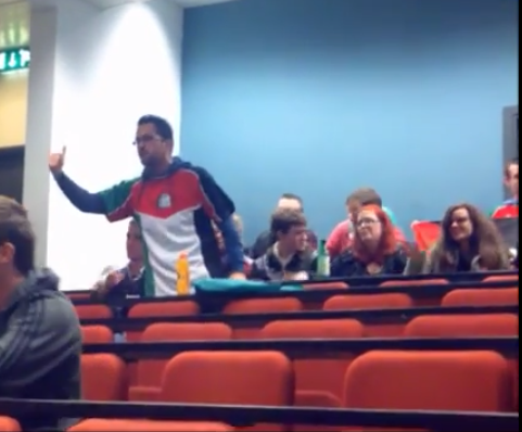(Joseph Loughnane and other anti-Israel students, NUI Galway)