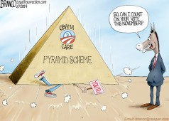Obama-care Pyramid Scheme