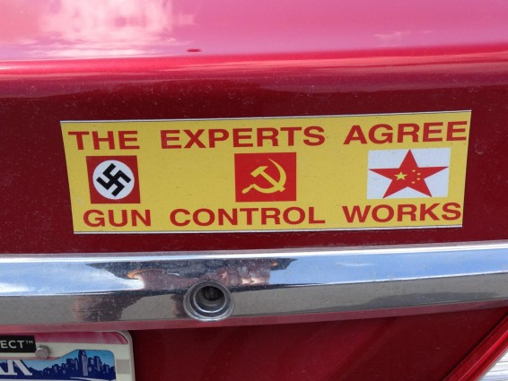Bumper Sticker - Ithaca - Experts Agree Gun Control