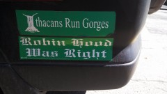 Bumper Stickers - Ithaca - Robin Hood