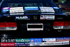 Bumper Stickers - Radford VA - Moonbat
