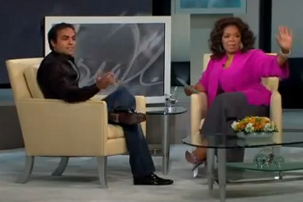Chahal and Oprah