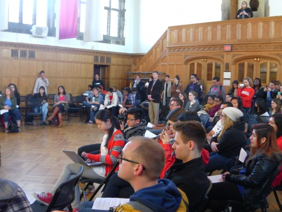 Cornell Alternative Student Assembly 4-17-2014