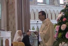 Hallelujah Priest Wedding Video screencap