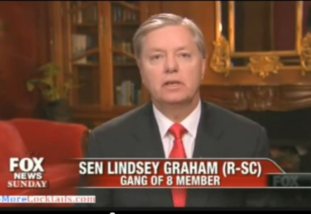 Lindsey Graham FoxNews Sunday Gang of 8 bill