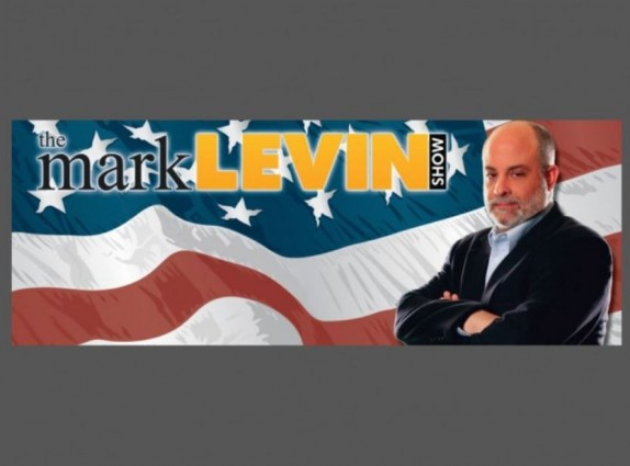 Mark Levin Show Banner with Border