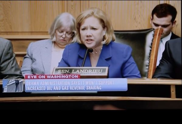 Mary Landrieu 2014 Fake Senate Hearing TV Ad
