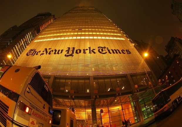 What do you think of the NY Times Ombudsman saying that the paper has a liberal bias?