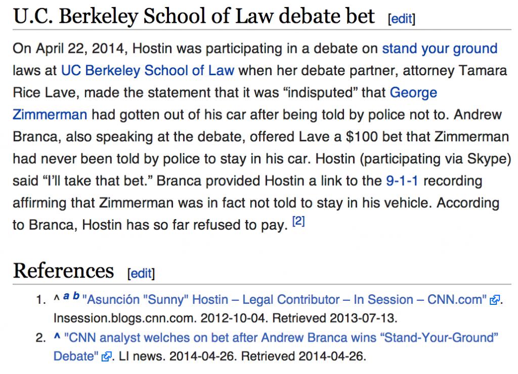 Sunny Hostin Wiki with debate welch