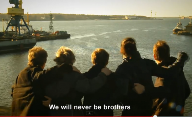 We will Never be Brothers Ukraine Video screencap