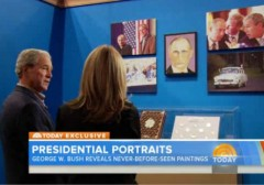 george-w--bush-unveils-paintings-world-leaders