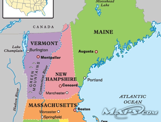 New Hampshire | Vermont | boundary dispute | April Fools
