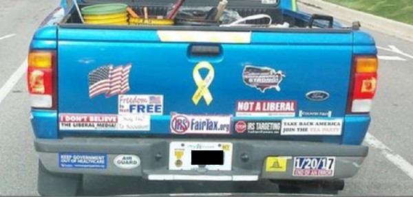 Bumper Stickers - Michigan - Not a Liberal