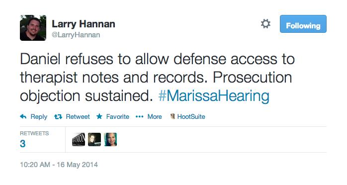 Daniel refuses to allow defense access
