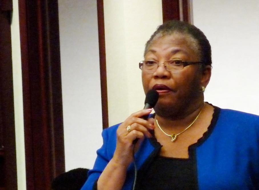 Florida state Senator Geri Thompson