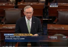 Harry Reid Constitutional Amendment Campaign Finance Senate Floor 5-15-2014