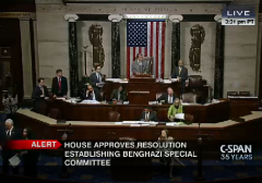 House Benghazi Select Committee Vote Gallery