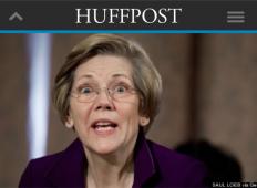 HuffPost Elizabeth Warren Not A Socialist cropped