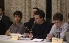 (Bobby Dishell speaking at U. Michigan Divestment Debate)