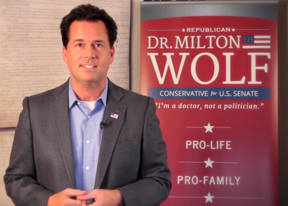 Milton Wolf for Senate Legal Insurrection Video