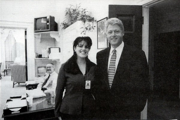 Monica Lewinsky Bill Clinton official photo