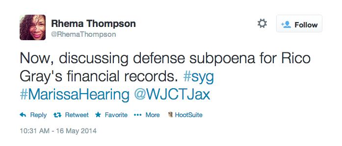 Now discussing defense subpoena