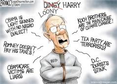 Loony Harry Reid