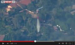 San Diego Fires #05 SkyNews